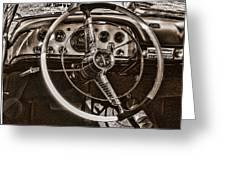 1956 Desoto Dash Greeting Card
