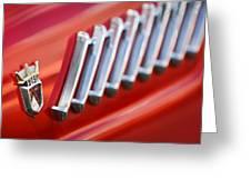 1956 Ford Thunderbird Emblem -278c Greeting Card