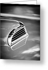 1956 Ford Thunderbird Hood Scoop -287bw Greeting Card