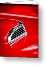 1956 Ford Thunderbird Hood Scoop -287c Greeting Card