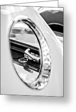 1956 Ford Thunderbird Latch -417bw Greeting Card