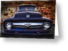 1956 Ford V8 Greeting Card