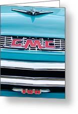1956 Gmc 100 Deluxe Edition Pickup Truck Greeting Card