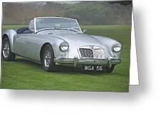 1956 Mga Roadster Greeting Card
