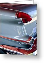 1956 Oldsmobile Taillight Greeting Card