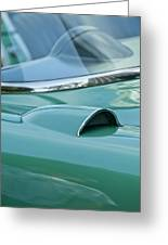 1957 Chevrolet Corvette Scoop Greeting Card