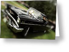 1957 Chevrolet Greeting Card