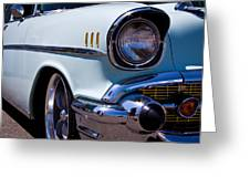 1957 Chevy Bel Air Custom Hot Rod Greeting Card
