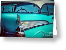 1957 Chevy Bel-air Greeting Card