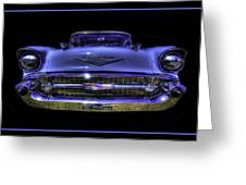 1957 Chevy Greeting Card