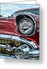 1957 Chevy - My Classic Car Greeting Card