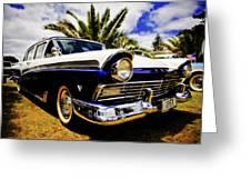 1957 Ford Custom Greeting Card