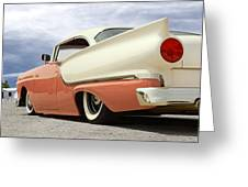 1957 Ford Fairlane Lowrider Greeting Card