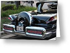1957 Mercury Turnpike Rear End Greeting Card