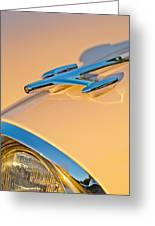 1957 Oldsmobile Hood Ornament 6 Greeting Card