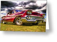 1958 Chevrolet Impala Greeting Card by Phil 'motography' Clark