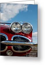1958 Corvette Greeting Card
