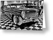 1958 Lincoln Continental Mk IIi Greeting Card