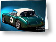 1959 Austin Healey 3000 Mk1 Greeting Card