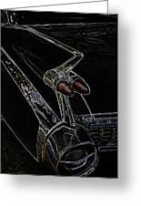 1959 Caddy Art Greeting Card by Steve McKinzie