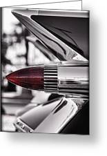 1959 Cadillac Eldorado Tailight Greeting Card