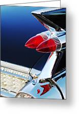 1959 Cadillac Eldorado Taillight -075c Greeting Card