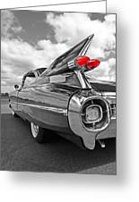 1959 Cadillac Tail Fins Greeting Card