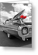 1959 Cadillac Tail Fins Greeting Card