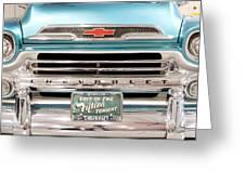 1959 Chevrolet Apache 012315 Greeting Card