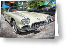 1959 Corvette Greeting Card