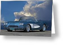 1959 Corvette Roadster 1 Greeting Card