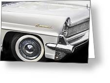 1959 Lincoln Continental Greeting Card