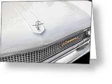 1959 Lincoln Continental Too Greeting Card