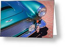 1960 Aston Martin Db4 Series II Grille Greeting Card by Jill Reger
