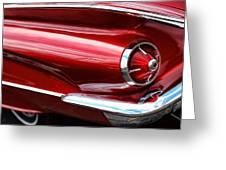 1960 Buick Lesabre Greeting Card