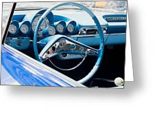 1960 Chevrolet Bel Air 4 012315 Greeting Card