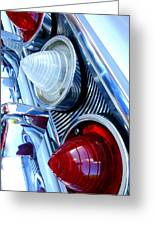 1960 Chevrolet Impala Greeting Card
