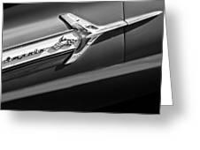 1960 Chevrolet Impala Side Emblem Greeting Card