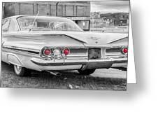 1960 Chevy Impala   7d08509 Greeting Card