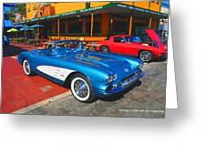 1960 Corvette Greeting Card