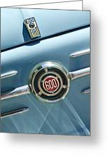 1960 Fiat 600 Jolly Emblem Greeting Card