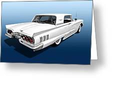 1960 Ford Thunderbird Greeting Card