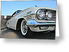 1960 Impala Greeting Card
