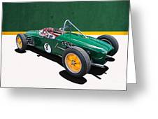 1960 Lotus 18 Fj Greeting Card