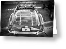 1960 Mga 1600 Convertible Bw Greeting Card