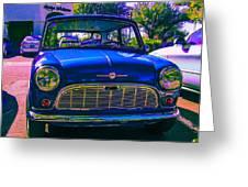 1960 Morris Mini Greeting Card