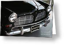 1960's Volvo Greeting Card