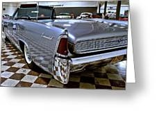 1961 Lincoln Continental Taillight Greeting Card