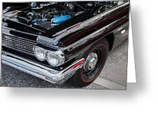 1961 Pontiac Catalina 421 Greeting Card
