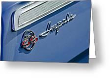 1962 Chevrolet Impala Emblem Greeting Card